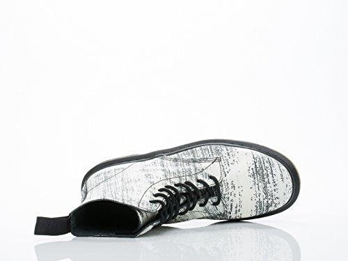 Femme Boots Dr Pascal Blanc noir Martens p1nxxEwqt