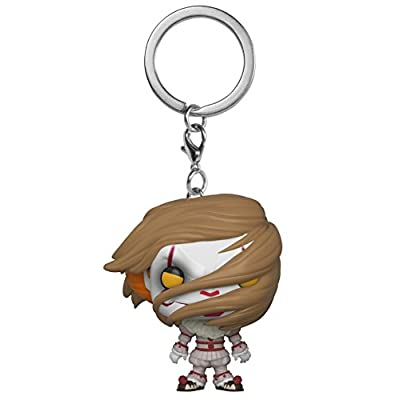 Funko Pop Keychain: Horror It - Pennywise with  Wig Collectible Figure, Multicolor: Toys & Games