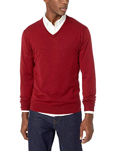 Uomo red Sweater Goodthreads Goodthreads Sweater Red wt74Wfx