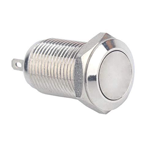 金属 押しボタンスイッチ ラッチング 10mm 36V 自動車 電気機器