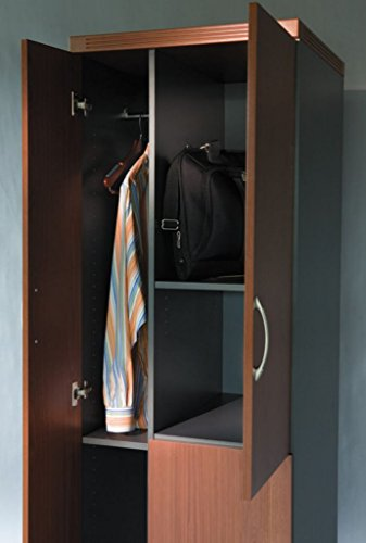 MLNAPST2LDC - Thermally Fused Laminate - Mayline Aberdeen Series Personal Storage Tower - Each