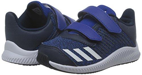 Adidas fortarun CF I–Sneaker deportepara Kinder, Blau–(reauni/Ftwbla/Maruni), 26