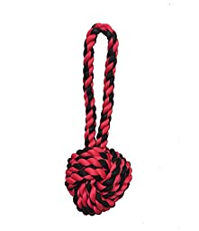 Multipet Nuts for Knots Heavy Duty Rope Dog Toy with Tug, Large