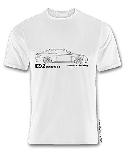 E92 o autom de 360 Tama de Autos camiseta v65xnPw4n