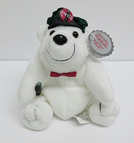 Coca Cola Polar Bear in Driver's Cap and Bow Tie
