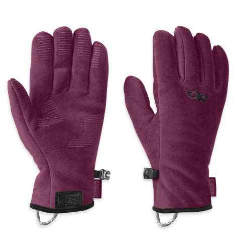Price comparison product image Outdoor Research Kids' Fuzzy Gloves,  Orchid