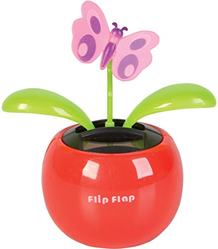 Rhode Island Novelty New Insect PVC Car Dashboard Bobbing Butterfly Bug Solar Toy