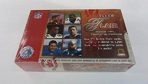 2002 Fleer Flair Football Box (Hobby)