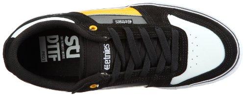 Etnies Zapatillas Basic Cordones negro - Schwarz (BLACK/WHITE/GOLD 715)