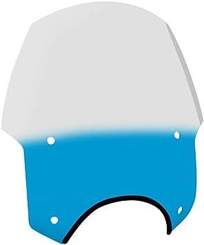 Alley Cat with 9 Headlight Cutout Memphis Shades MEP5626 Gradient Blue Sport shield