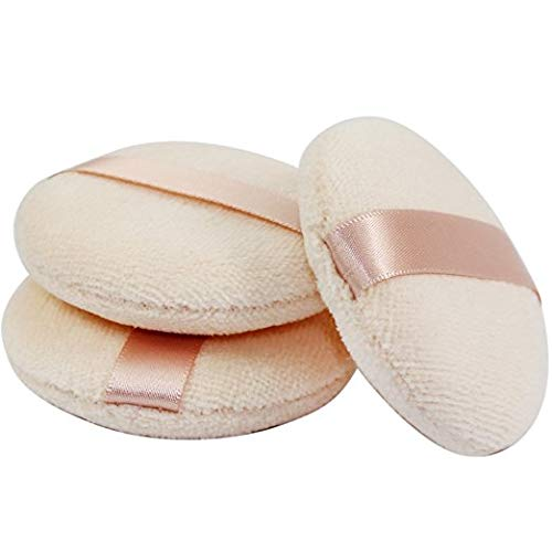 Joly Powder Puff for Makeup Face Powder (3 Pieces)