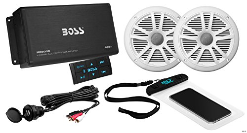 BOSS Audio ASK902B.6 Marine 500 Watt 4 Channel Amplifier / 6