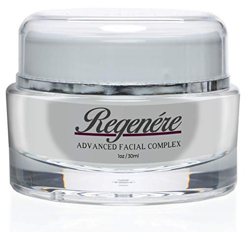 Regenere Advanced Facial Complex- Clinically Proven Skincare Technology- Face Firming Peptides- Anti-Aging Skincare Formula- Diminish Wrinkles and Fine Lines (Best Eye Cream In Your 50s)