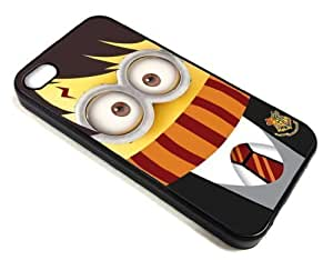 Good-will - Minion Harry Potter Design Cellphone Case for Iphone 4 4s Apple 4g ,Hard Case Skin Cover Protector Accessory,hard Plastic Cover +With Gift