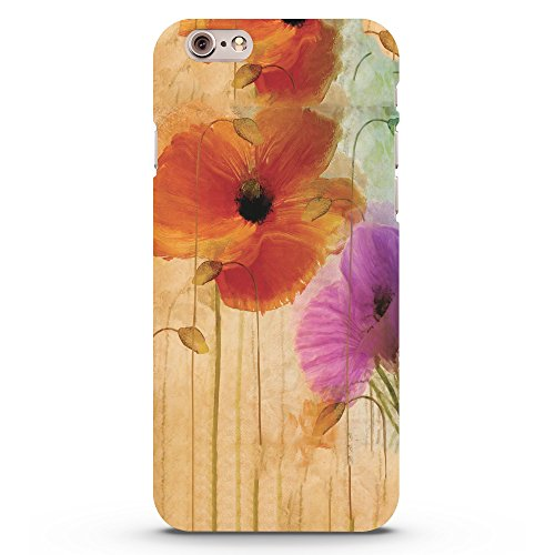 Koveru Back Cover Case for Apple iPhone 6 - Flower Painting
