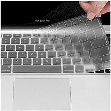 Red Se7enline New 2018//2019 MacBook Air 13 inch Keyboard Cover Soft Silicone Skin Protector for MacBook Air 13-Inch with Touch ID with Retina Display Newest Version Model A1932 US Layout