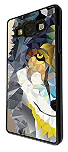 283 - geometric Aztec Wolf Tiger Face Design For Samsung Galaxy Ace 4 Fashion Trend CASE Back COVER Plastic&Thin Metal