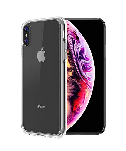 LALLEY Compatible with iPhone Xs Max Case,Ultra Slim Thin Silicone Soft TPU Protective Cover (Clear)