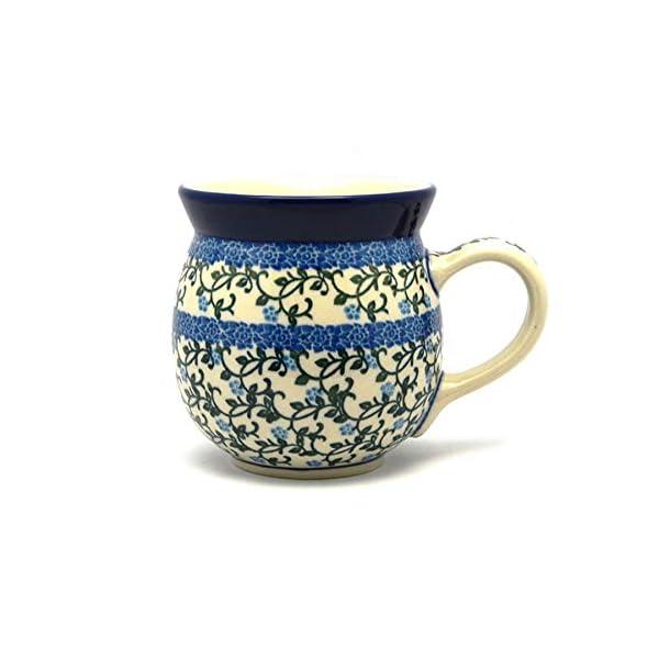 Polish Pottery Mug – 15 oz. Bubble – Terrace Vines