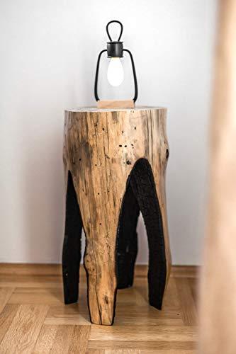 Bedroom Bedside Table, Rustic Nightstand, Tree Stump Coffee Table, Farmhouse End Table farmhouse nightstands