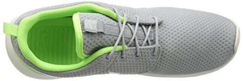 Nike Heren Roshe Run Wolf Grijs / Sail-ghost Green-sail