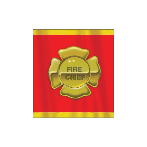 Firefighter 54in 108in Plastic Tablecover