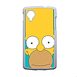 High Quality Back Phone Case For Guys Custom Design With Simpson For Nexus 5 Lg Choose Design 1