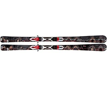 77d22eb29d Rossignol - Skis ATTRACTION 3 ECHO W + SAPH 110-Ski 160-Marron-Femme ...