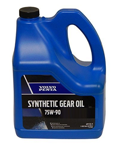 Volvo Penta Gear Oil Synthetic 75W 90 1-Gallon