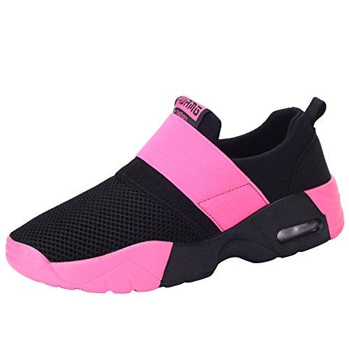 Malla Aire Transpirable Roja Y Para Asfalto 35 Zapatos Hombres 44 Montaña Amantes Tamaño Casual Wealsex Rosa Libre Deportes Colchón Mujer En Zapatillas De Correr qxgTzWAUw