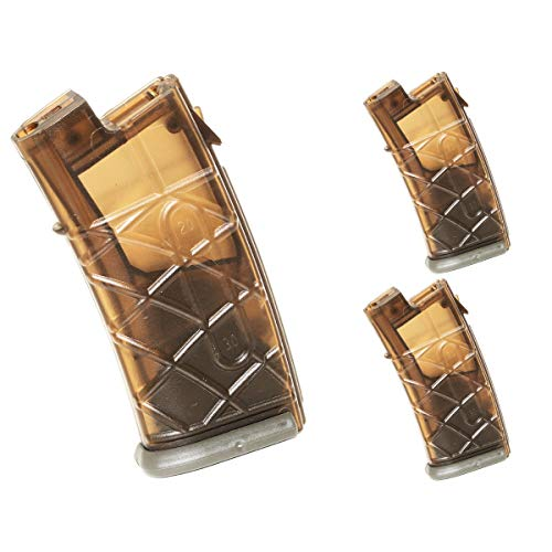 Airsoft Shooting Gear APS 3pcs 300rd Hi-Cap Magazine for APS JG Classic Army Tokyo Marui AUG AEG Brown/FG