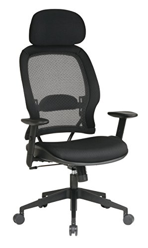 space-collection-air-grid-deluxe-chair-with-head-rest-and-mesh-seat
