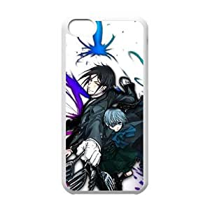 Black Butler iPhone 5c Cell Phone Case White DIY Gift xxy002_0396050
