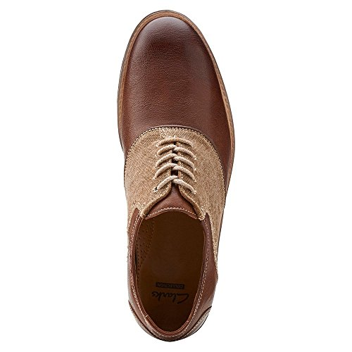 Clarks Delsin Ox Mens Footwear Brown