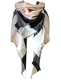 Womens Warm Long Shawl Wraps Large Scarves Knit Cashmere...