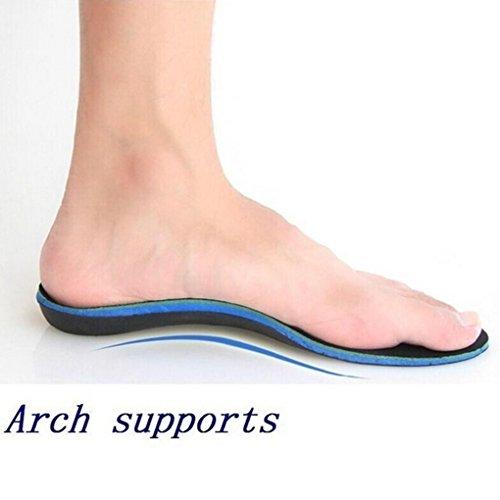 arco donne piede Solette QHGstore adulti Cura 37 gli e ortopediche 34 Ortesi le di EVA dei piatto per piedi XS sostegno uomini PwqxBqSU0