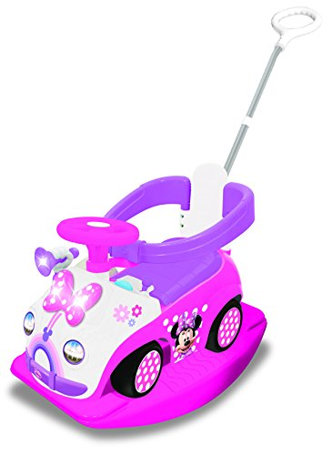 - Kiddieland Disney Minnie Mouse 4 in 1 Activity Ride-On