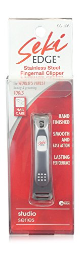 SEKI EDGE SS-106- Stainless Steel Fingernail Clipper