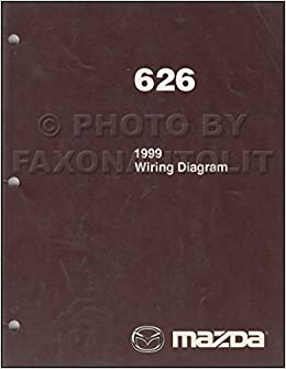 1999 mazda wiring diagram 1999 mazda 626 wiring diagram manual original mazda amazon com  1999 mazda 626 wiring diagram manual
