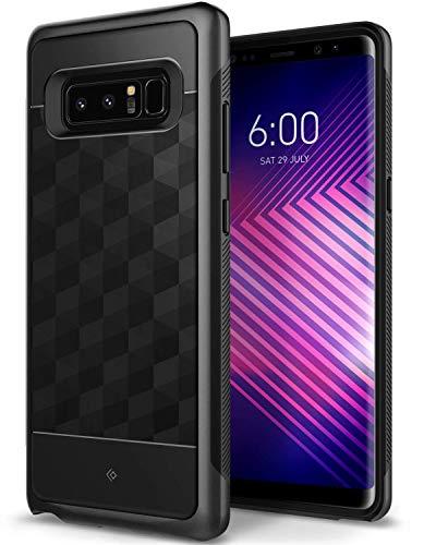 Caseology Parallax for Galaxy Note 8 Case (2017) - Award Winning Design - Black (Renewed)