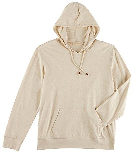 Boca One Light - Boca Classics Islandwear Mens Solid Lightweight Hooded Shirt Medium Oatmeal Beige