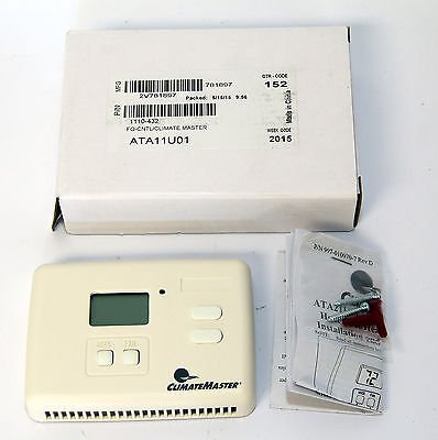 Climate Master Cool/Heat Pump Thermostat ATA11U01