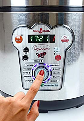 BE PRO Robot de Cocina Tekno Cheff Supreme. 14 menus 6 litros ...