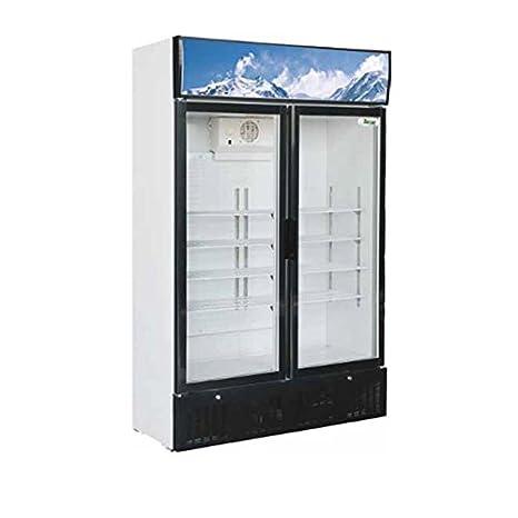 Nevera vitrina a columna 620 LT. - Armario Refrigerato: Amazon.es ...