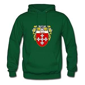 Women Keane_coat_of_arms_mantled Painting Green Customized Deepheather X-large Sweatshirts