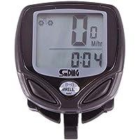 black Waterproof Wireless LCD Cycling Computer Bicycle Bike Speedometer Odometer Meter