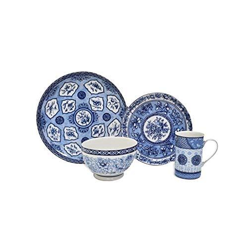 Blue Dynasty 16 Piece Dinnerware Set ()