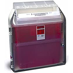Covidien 31307005 Sharps-A-Gator Wall Cabinet, Safety In Room Container, 2 gal and 3 gal