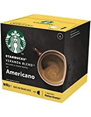 Starbucks Veranda Blend by NESCAFÉ Dolce Gusto Blonde Roast Coffee Pods, Box of 12 Capsules, 102g (12 Serves)