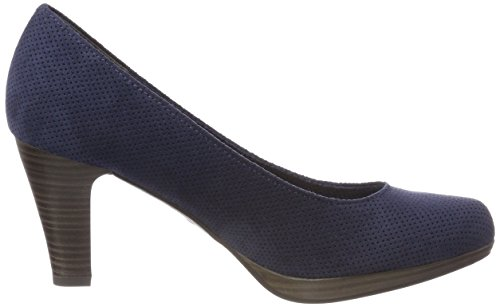 Marco Tozzi 22445 Damen Pumps Blau (Navy)